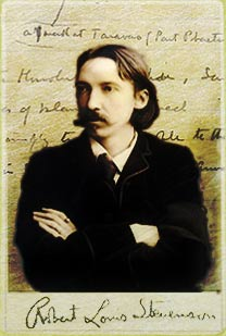 The author of Kidnapped, Treasure Island novels and poetry, Robert Louis Stevenson