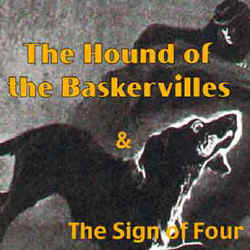 The Hound of the Baskervilles by Sir Arthur Conan Doyle, narrated by Patrick Horgan - an mp3 formatted CD