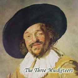 Illustration for The Three Musketeers