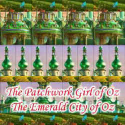 Illustration for The Patchwork Girl of Oz