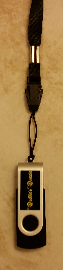 Thumbdrive with Lanyard
