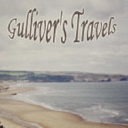 Gulliver's Travels by Jonathan Swift is unabridged and read by Patrick Horgan in the Worldtainment production mp3 CD.  Gullivers travels is repeated here in case you drop the apostrophe while searching :-)